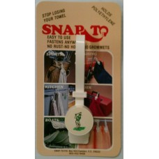 Snap To Golf Towel Holder