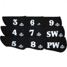 Iron Gloves Black 3-SW