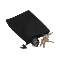Drawstring Caddy Bag Black