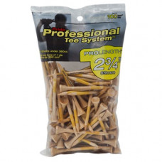 "2 3/4"" PTS ProLength Tee, 100 count Natural"