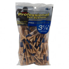 "3 1/4"" PTS ProLength Plus Tee, 75 count Natural"