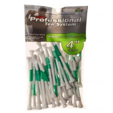 "4"" PTS ProLength Max Tee, 50 count White"